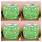 Baby Girls Infant Nappies Adjustable Breathable Washable Cloth Diaper