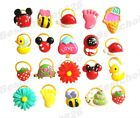 Lot Cute Flower Animal Small Dog Hair bows w/rubber bands Grooming Accessories