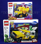 New LEGO Toy Story PIZZA PLANET TRUCK RESCUE & LOTSO'S DUMP TRUCK - 7598 7789