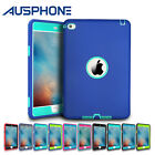 Heavy Duty Tough Armor Hybrid Protective Case Cover for Apple iPad mini 1 2 3 4