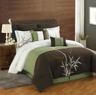 8 Piece Bamboo Embroidered Comforter Set image