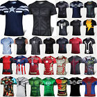 Men Casual Sports T-Shirts Marvel Superhero Costume Tops Jerseys Cycling Jogging