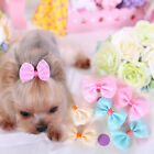 Cute Hairpin Puppy Pet Dog Cat Hair Bows Clips Yorkie Grooming Accessories NEW