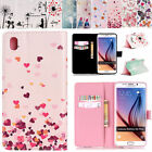 Pattern PU Leather Wallet Stand Flip Case Cover For Samsung Galaxy S7/ S7 Edge