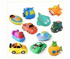 6 pcs Animals Kids Toys Soft Rubber Float Sqeeze Sound Baby Wash Bath Play
