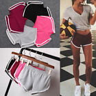 Summer Pants Slim Womens Sports Shorts Gym Workout Waistband Skinny Yoga Short