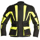 RST Tour Master Textile Waterproof Breathable Motorcycle Jacket Flo Yellow 7XL