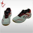 YONEX BADMINTON SHOE - SHB 34EX - WHITE / RED - COMFORT AND LIGHTWEIGHT
