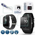 9H Tempered Glass Film Screen Protector Guard For Sony SW2 SW3 SWR50 Smart Watch