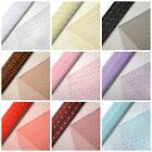 29cm x 10m GLITTER DOT Organza on a Roll Wedding Chair Sash Florist Decoration