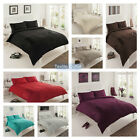 BRAND NEW LUXURY PURE DUVET COVER WITH PILLOW CASE BEDDING SET QUILT COVER