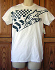 AlpineStars Black Checkered Flag Logo White T Shirt Pacsun Licensed Box37