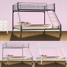 New Triple / Single Sleeper Bunk Bed Metal Single Double Triple 3 Children's Bed