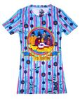 New: THE BEATLES - Yellow Submarine (Junior Sized) All Over Print SHIRT