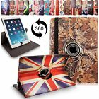 For Apple iPad Air 5th 360 Rotating Folding Folio Leather Smart Stand Case Cover