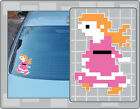 PAULINE Sprite Vinyl Decal from Donkey Kong PICK A SIZE Car Laptop Sticker Peach