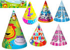 Birthday Party Hats Cone Jungle Blue Pink Rainbow 1st Birthday Special