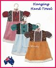 Kitchen Hanging Towel Hand Made Cute Clothes Multi Color Aust Stock Fast Postage