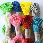 PARACORD / PARACHUTE CORD 3mm (325) *BRACELET MAKING *MANY COLOURS *PEPPERELL