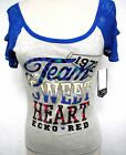 Ecko Red Logo Tank Top Shirt graphics Mark Ecko designs lace gray  Sweet Heart