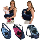 Внешний вид - New Baby Infant Newborn Adjustable Carrier Sling Wrap Rider Backpack Pouch Ring