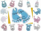 Pink/Blue Personalised Baby Shower Favour Tags/Thank You Tags/ Gift Tags