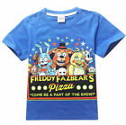 FNAF Kids Boys Girls Five Nights at Freddy's Sweatshirts T-Shirts Tops Blue Hot