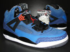 NEW Nike Air Jordan Spizike KNICKS Blue Ribbon Orange Flash 315371-405 Size 12