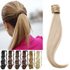 Real Clip In Hair Extensions Wrap Around Ponytail As Human Clearance Sale Cheap