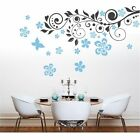 Wall Tattoo Tendril Chris (2-colored) Flowers Wall Sticker
