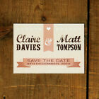 Personalised Vintage Poster Wedding Save the Date or Save the Evening