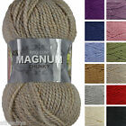 King Cole New Magnum Chunky 100g Acrylic Wool Blend Knitting Yarn