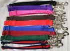 Strong Equine Grade Webbing Dog Lead Coupler, Washable, Soft, Various Colours