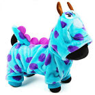 Cute Warm Winter Dragon Cosplay Clothes Fleece Coat Costumes Apparel for Dog Pet