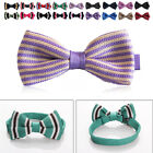 Men'S Bow Tie Knitted Fabric Stylish Leisure Bow Tie Exquisite Multicolor Fine