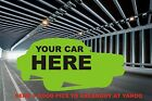 AMC - JEEP - KAISER garage banners 5ft X 3ft full color of your car