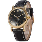 Official AgentX Luxury Analog Sport Quartz Leather Mens Boyfriends Wrist Watch
