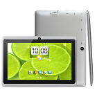 7'' HD Android 4.4 Quad Core Camera WIFI Tablet 8GB W/ Case Cover For Kids Gift