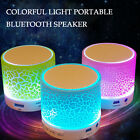 Mini Portable Colorful Stereo Bass Wireless Bluetooth Speaker FM Audio Player