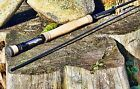 "Rainshadow Revelation 4 PC Fly Rod Blank 2-10wt 6'6""-9' Satin Black Finish Fast"