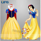 New Adult Snow White Dresses On Stage Cosplay Anime Costume Fancy Dress Festival