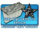 Outdoor Vehicle Business Mobile Card Holders Digi Camo camouflage truck car auto