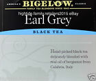 Bigelow Earl Grey Black Tea Individually Wrapped, 20 40 60 80 or 100 Bags