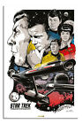 Star Trek To Boldly Go 50th Anniversary Poster New - Maxi Size 36 x 24 Inch