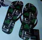 Mens Coors Light or Guinness Beer Flip Flops Size L 10/11 & XL 12/13