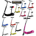 CHILDRENS E SCOOTER 120w BATTERY OPERATED RIDE ON TOY BIKE STAND SEAT ESKOOTER