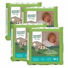Seventh Generation Free & Clear Overnight Diapers Size 4, 5, 6 CHEAP!!!