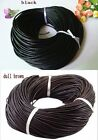 Fashion Real Leather cord in 1mm/1.5mm/2mm/2.5mm/3mm/4mm thick to choose