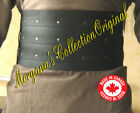 Medieval Celtic Viking Barbarian Mercenary Leather Kidney Belt Deluxe