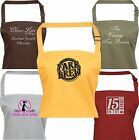 PERSONALISED BUSINESS APRON WITH POCKET AP12